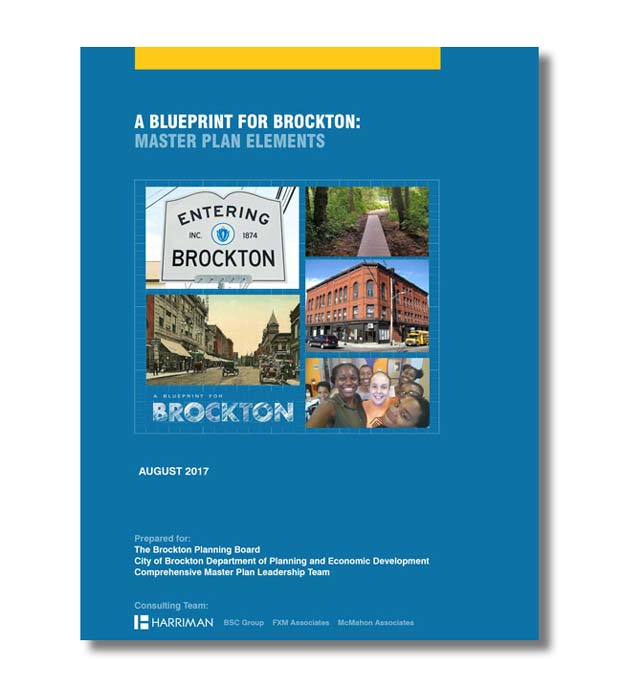 Brockton Master Plan cover