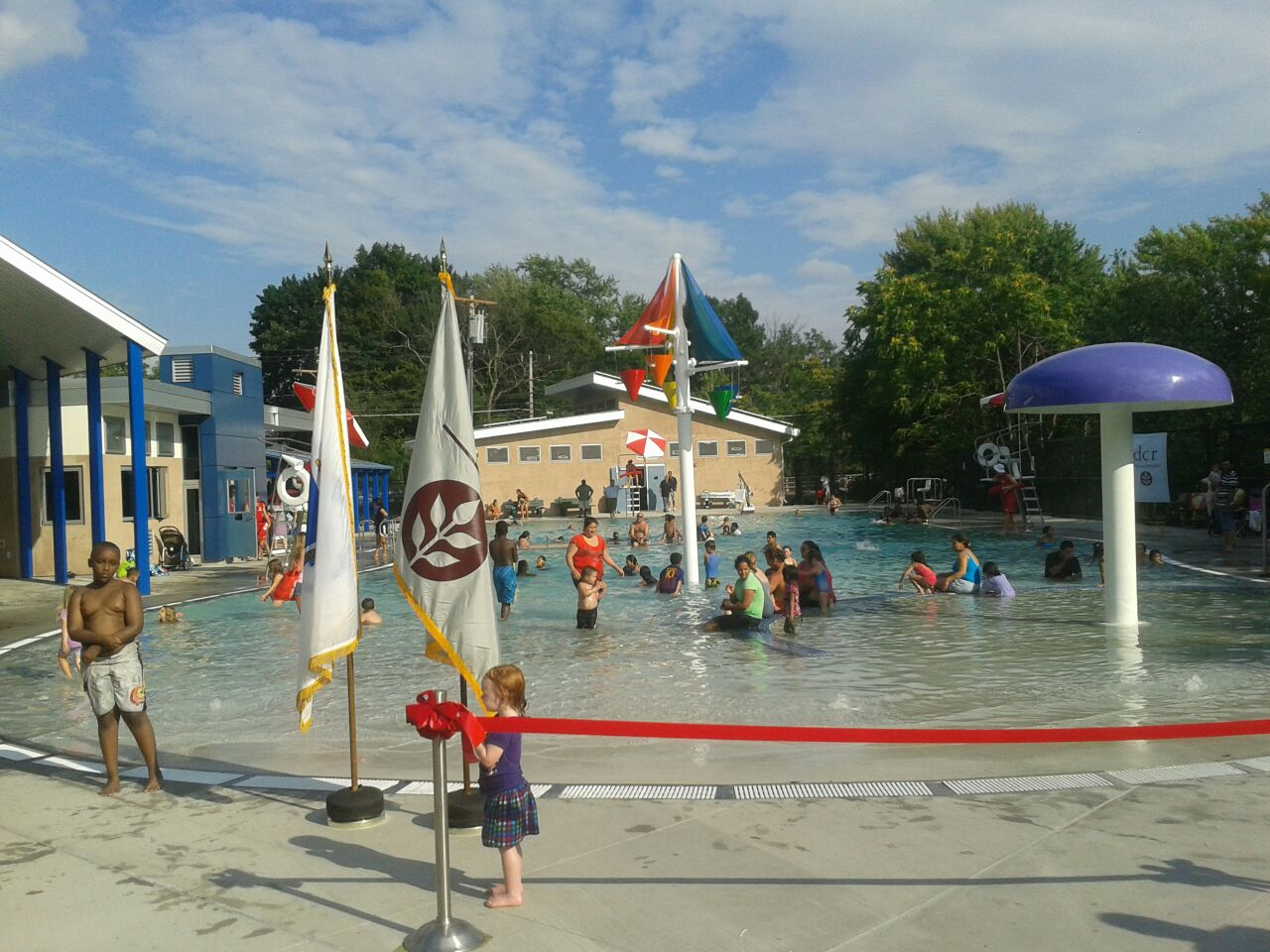 Connors-Pool-Ribbon-Cutting