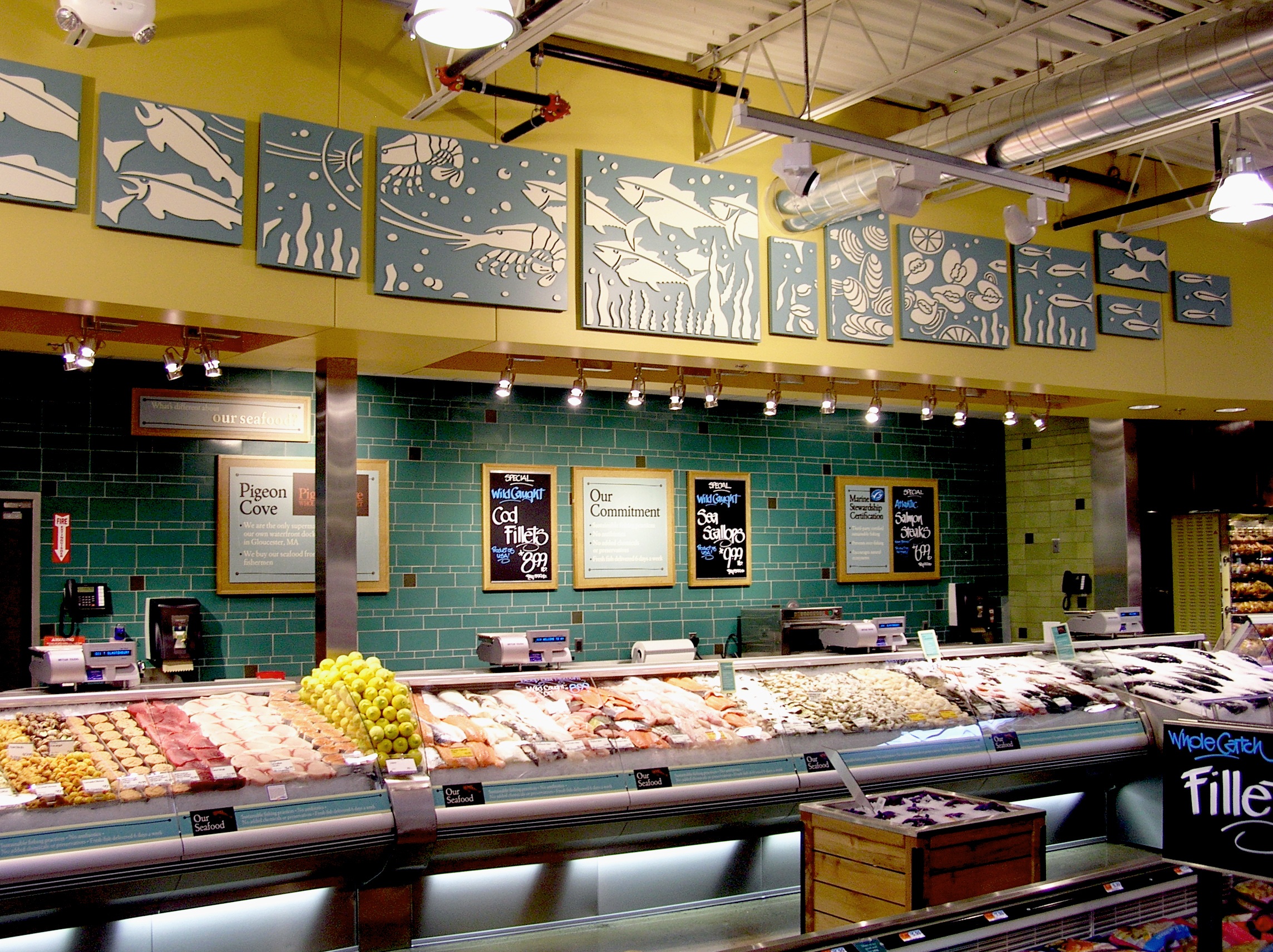 Whole foods market glastonbury harriman for Fish market ct