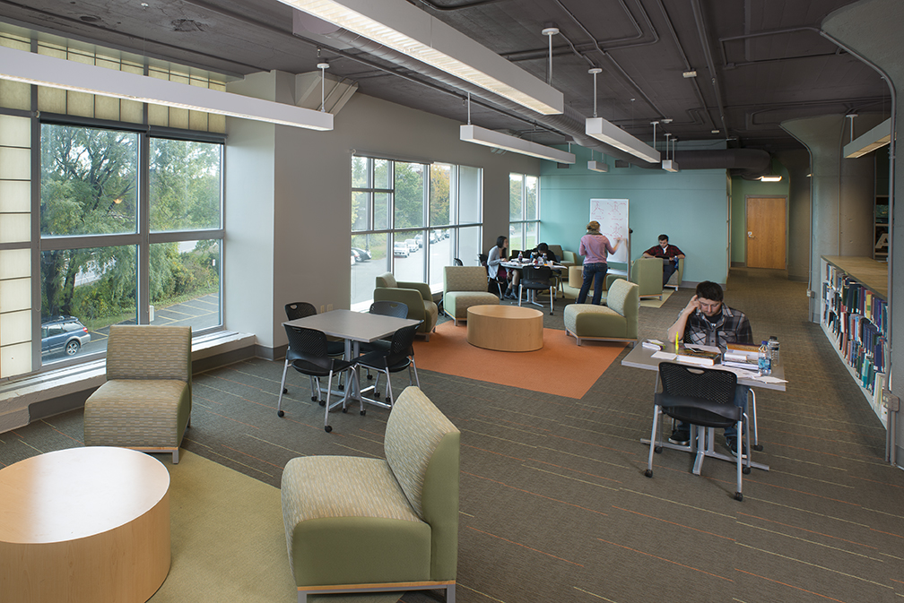Facility Focus: University of Southern Maine: The Learning Commons