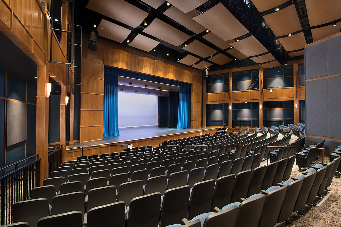 Kennebunk High School auditorium photo