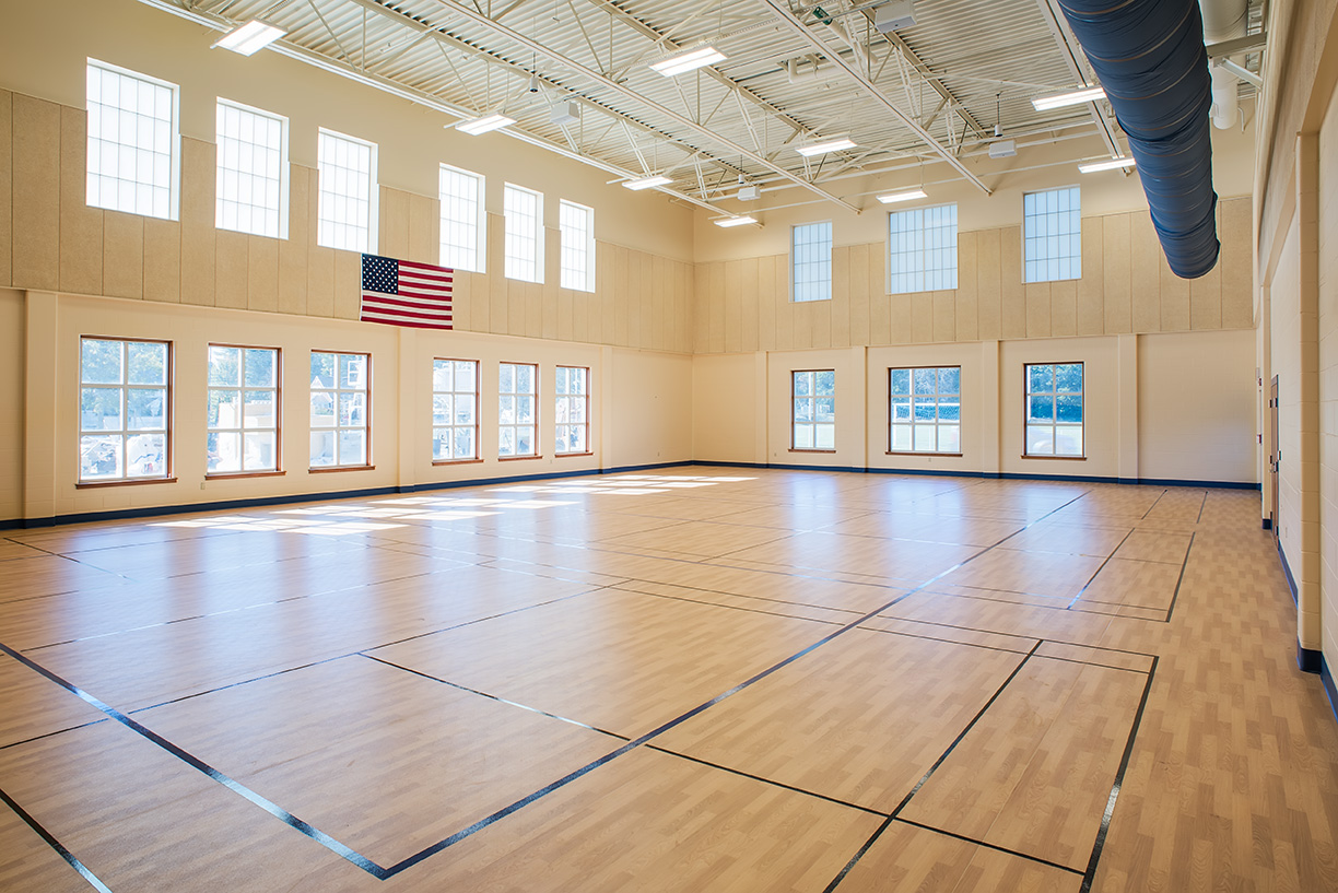 Kennebunk High School gymnasium photo