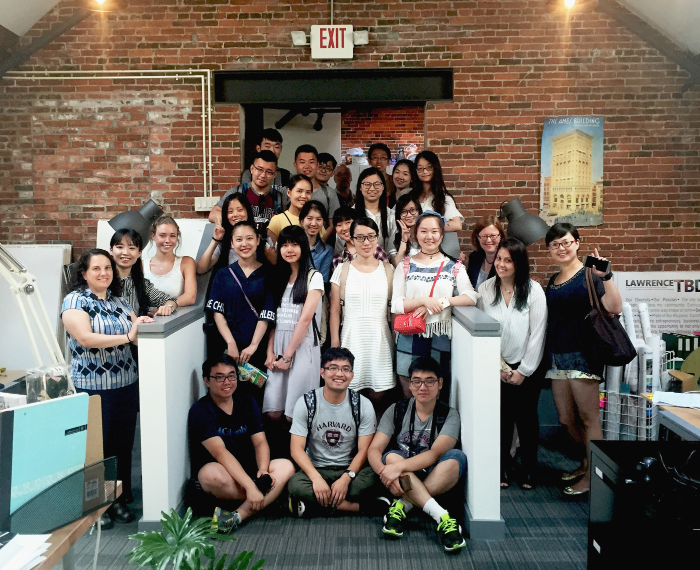 Nanjing Forestry University Students visit Harriman