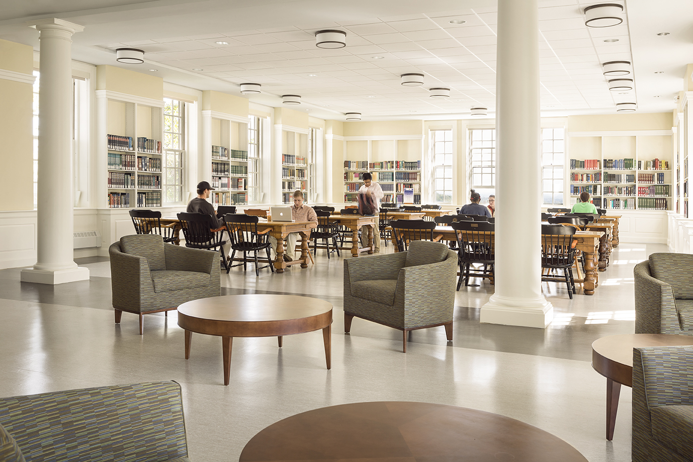 Colby College Miller Library Renovation