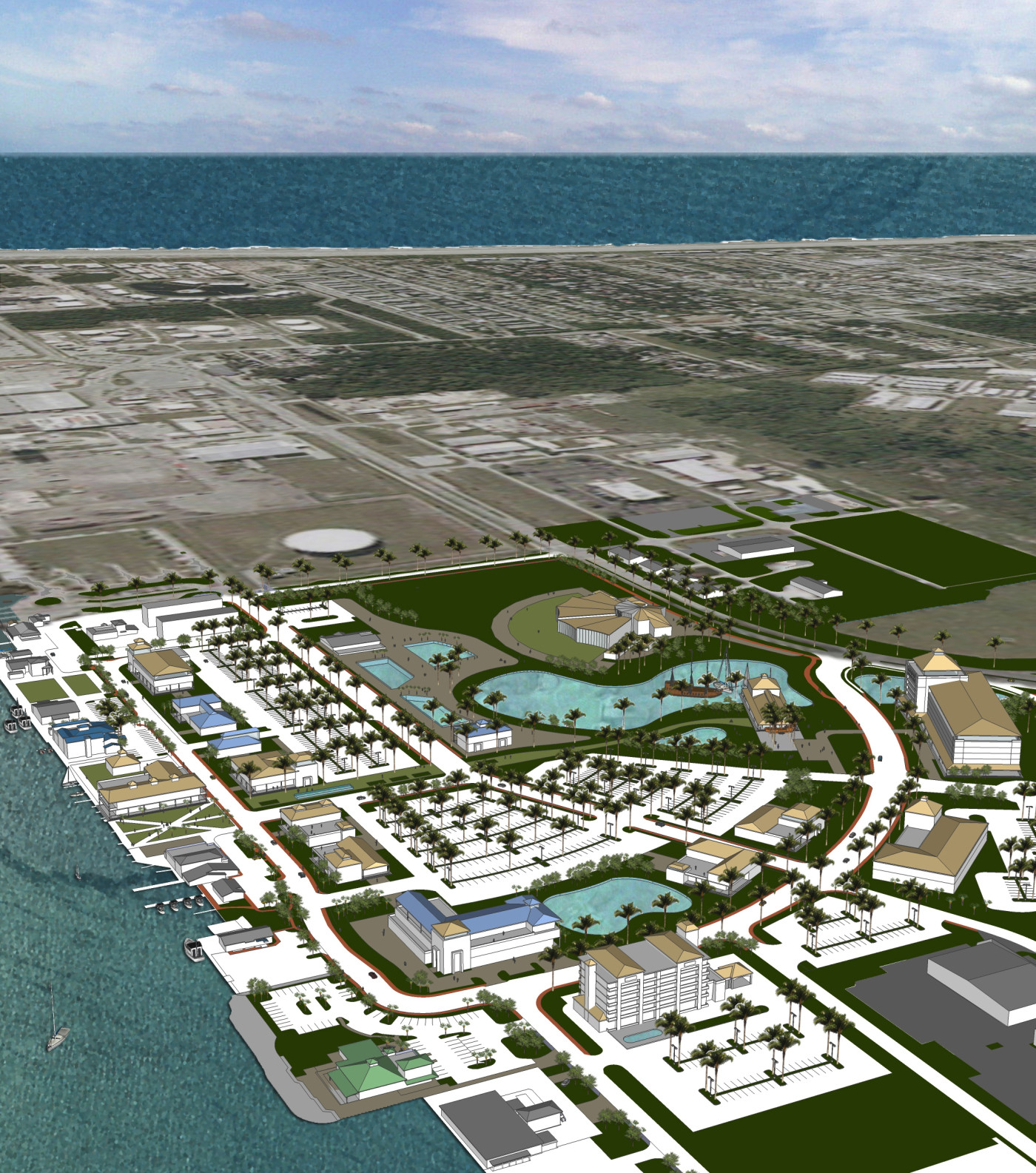 Port Canaveral 3d view