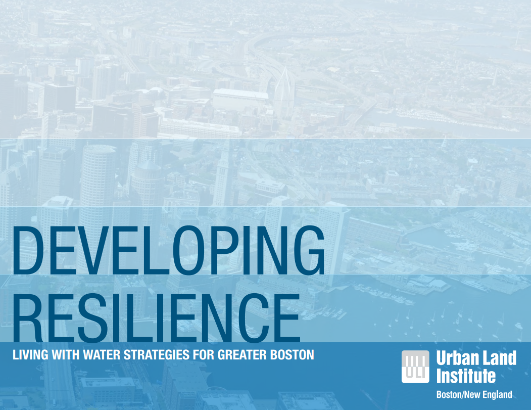 Developing Resilience Living with Water Strategies for Greater Boston