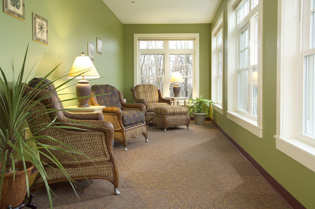 Hospice House photographed for Harriman Associates.  No Stock usage Permitted!