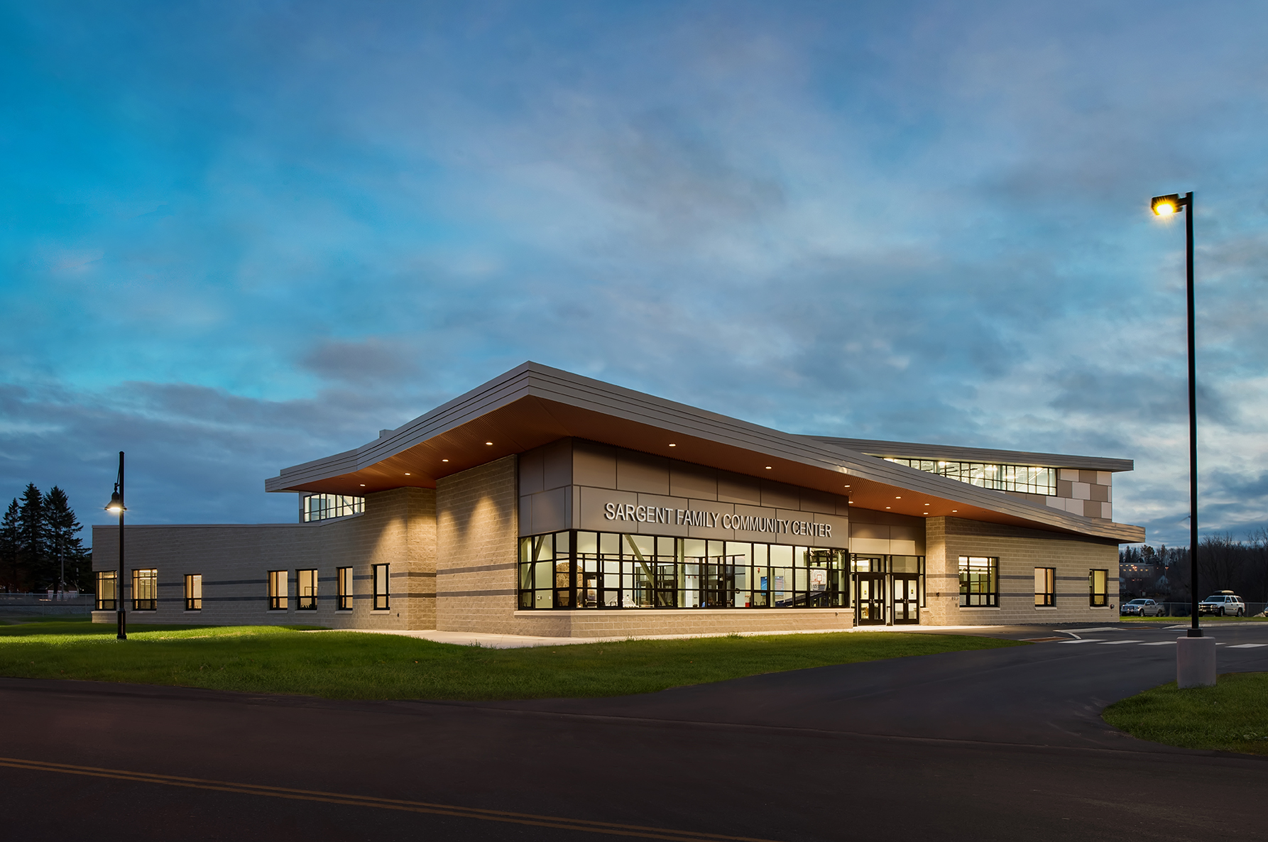 Harriman Completes Sargent Family Community Center