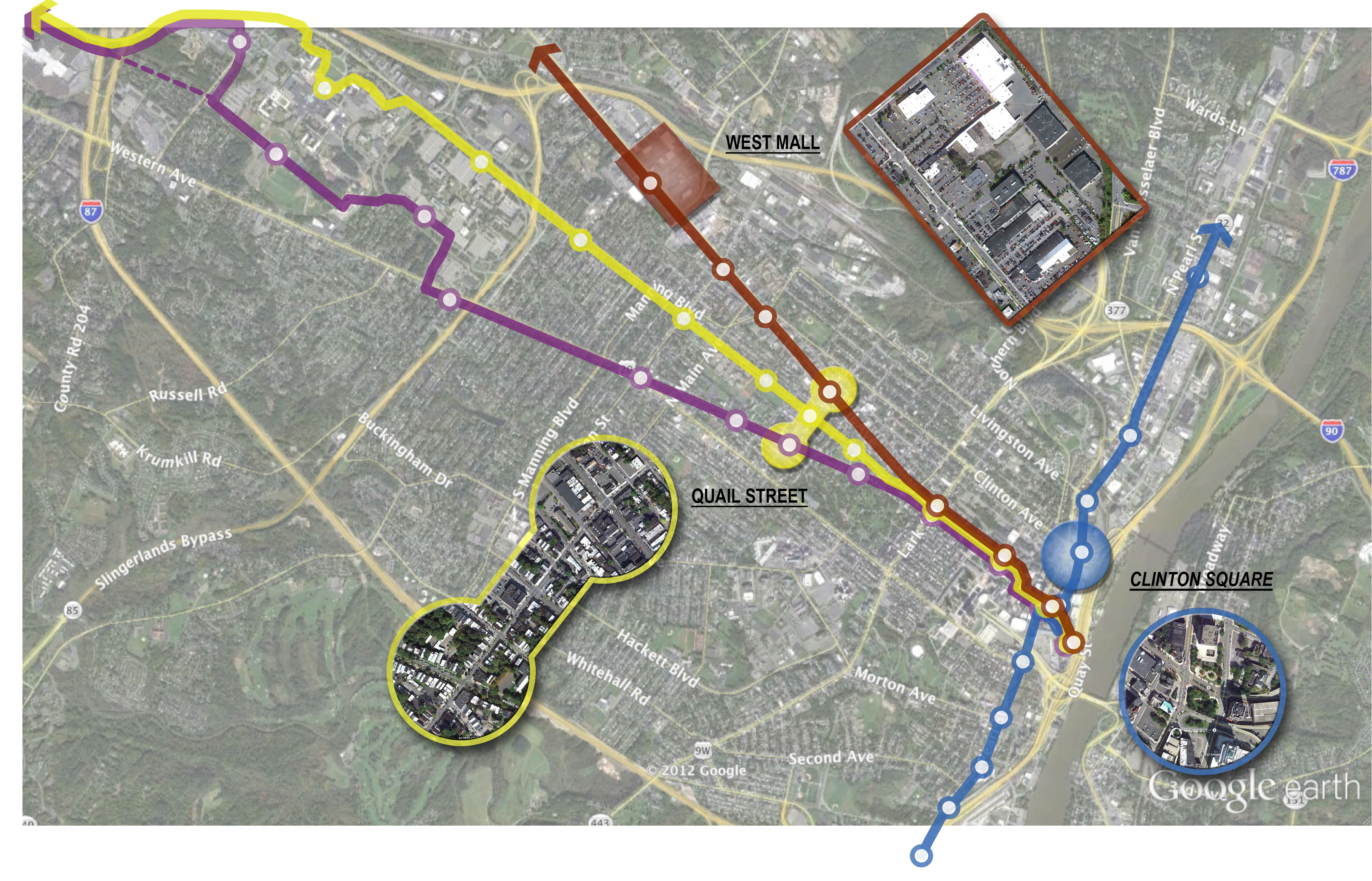 Albany Transit-Oriented Development Master Plan