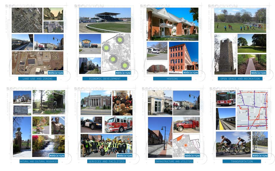Brockton Master Plan divider pages