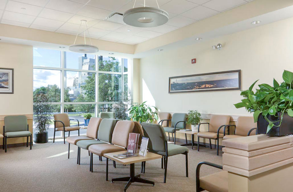 Maple Medical Partners medical office building lobby photo