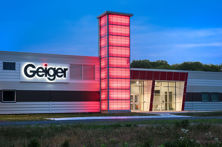 Geiger corporate offices photo