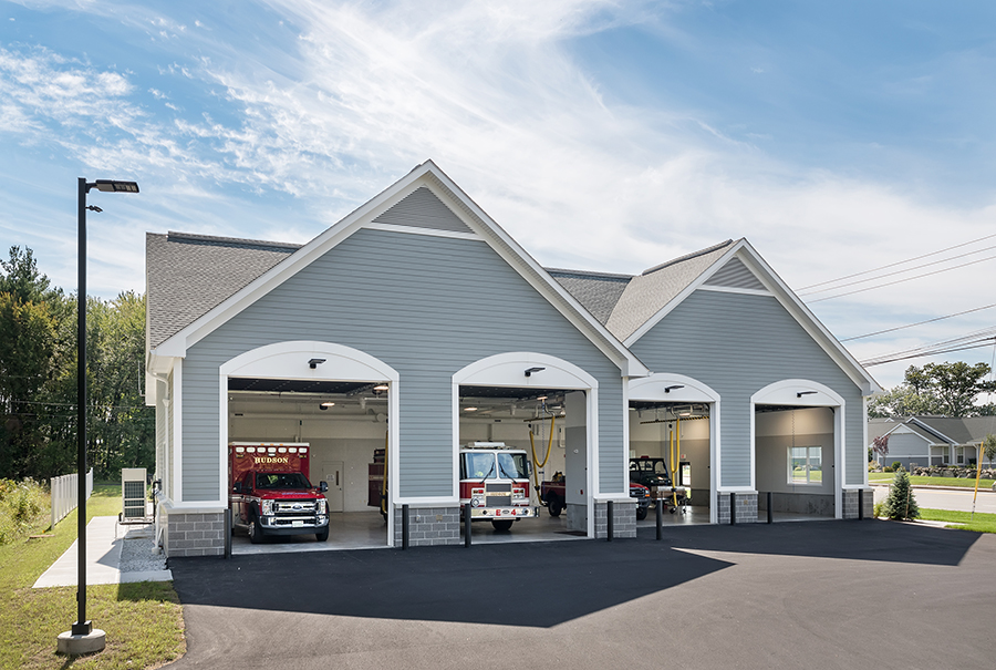 Town of Hudson, NH, James A. Taylor Memorial Fire Station photo