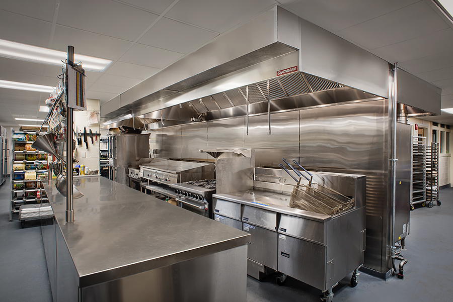 University of New Hampshire, Stillings Hall Enhanced Catering Kitchen