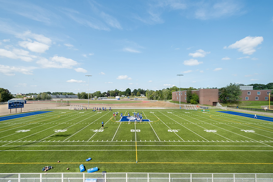 Lewiston High School Athletic Complex football field