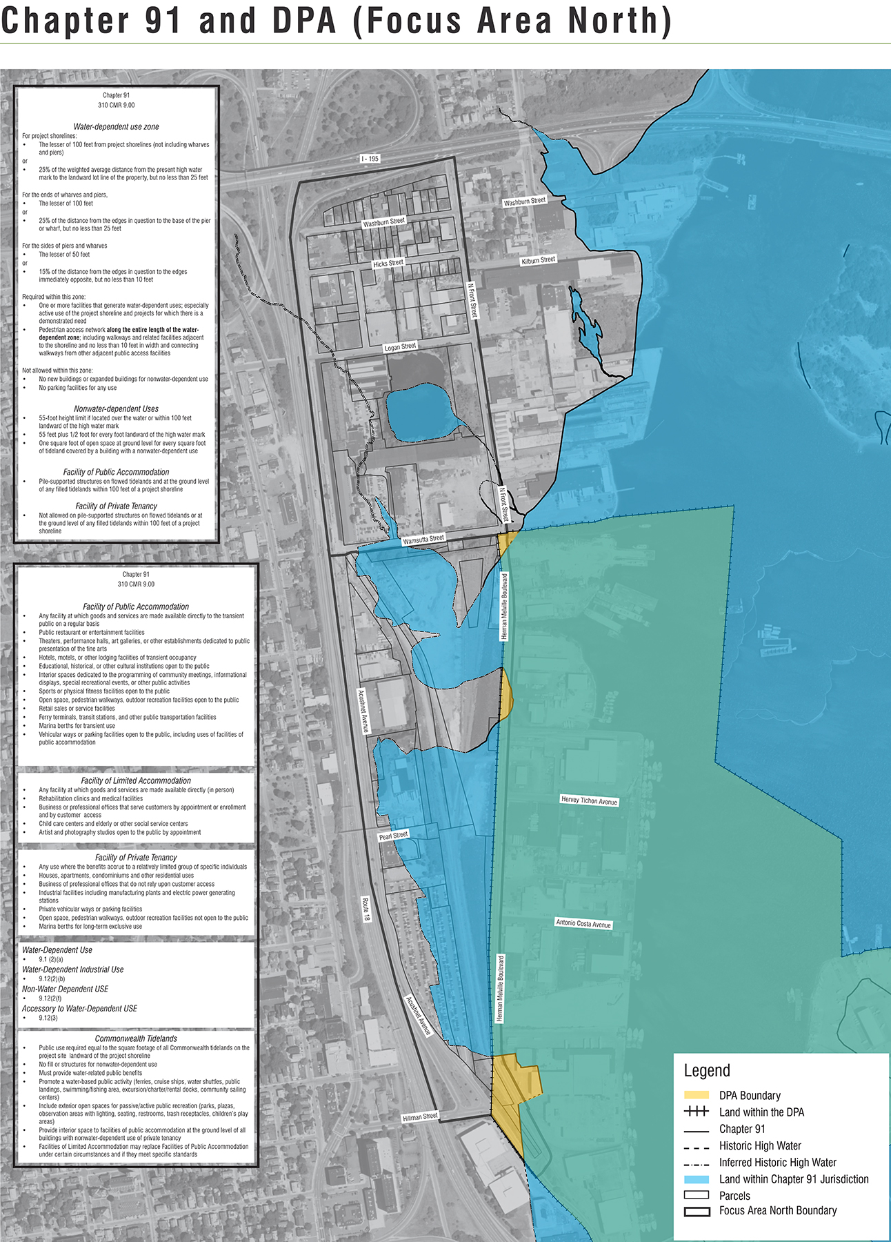 Map Ch91 DPA for New Bedford