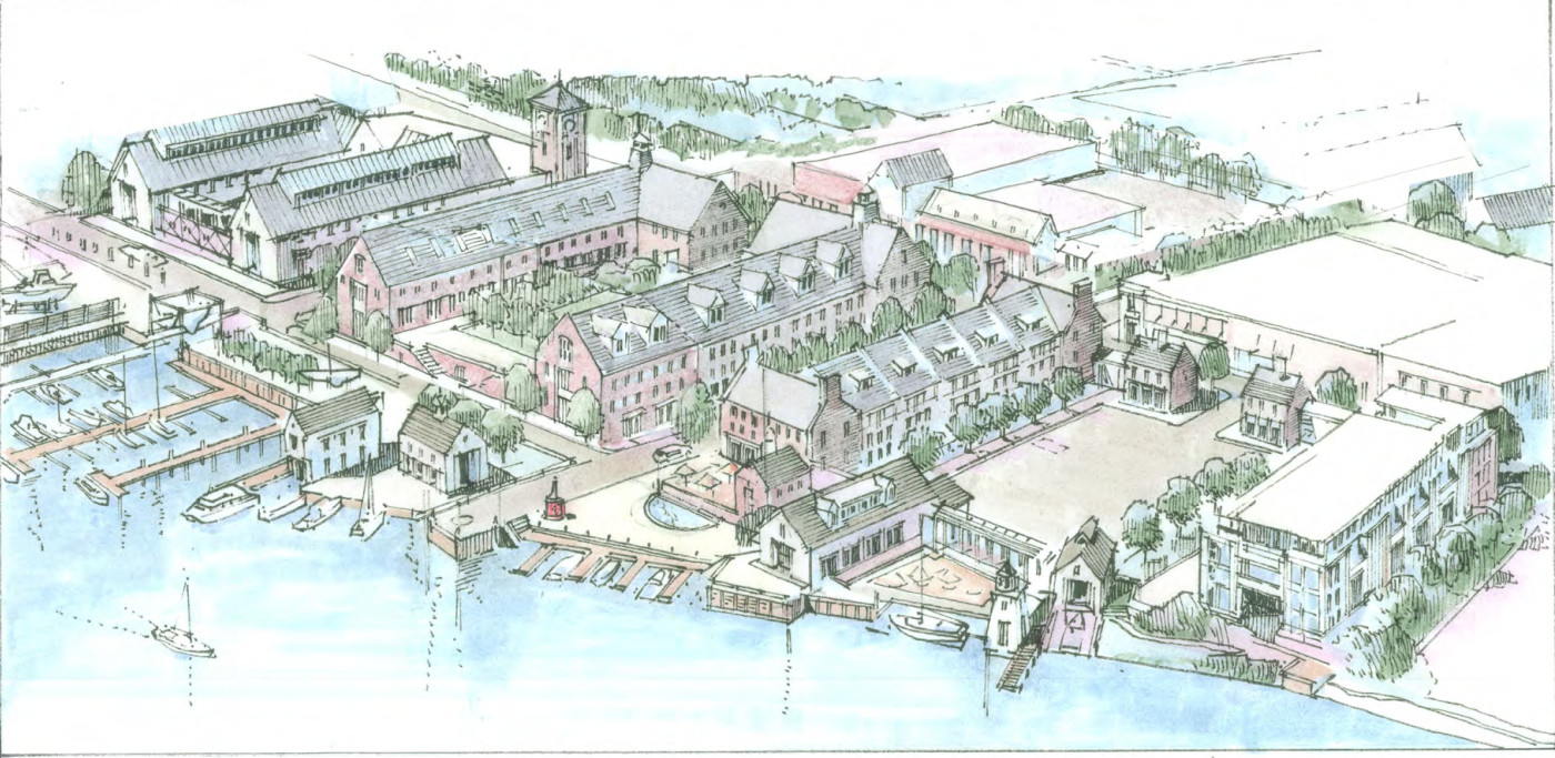 Norwalk waterfront include credits
