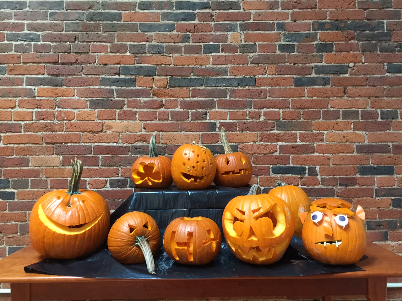 Harriman's Annual Pumpkin Carving Contest