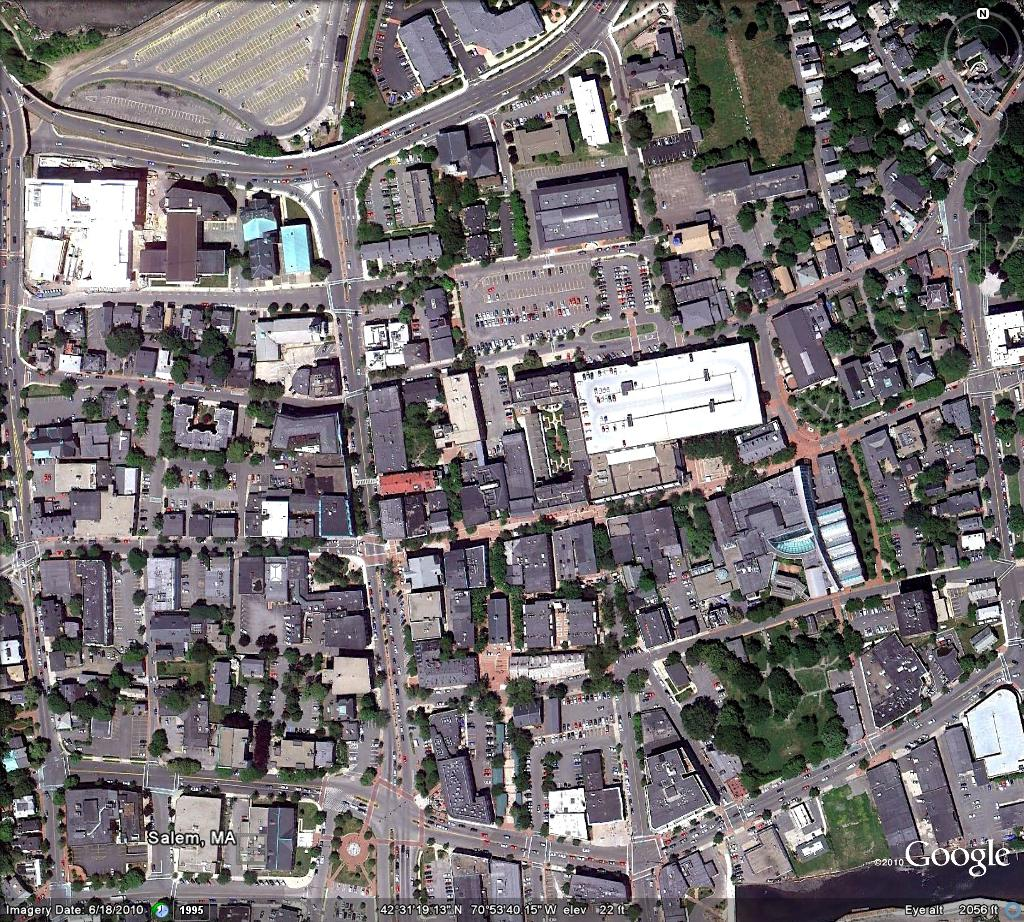 Salem Urban Renewal Plan Aerial