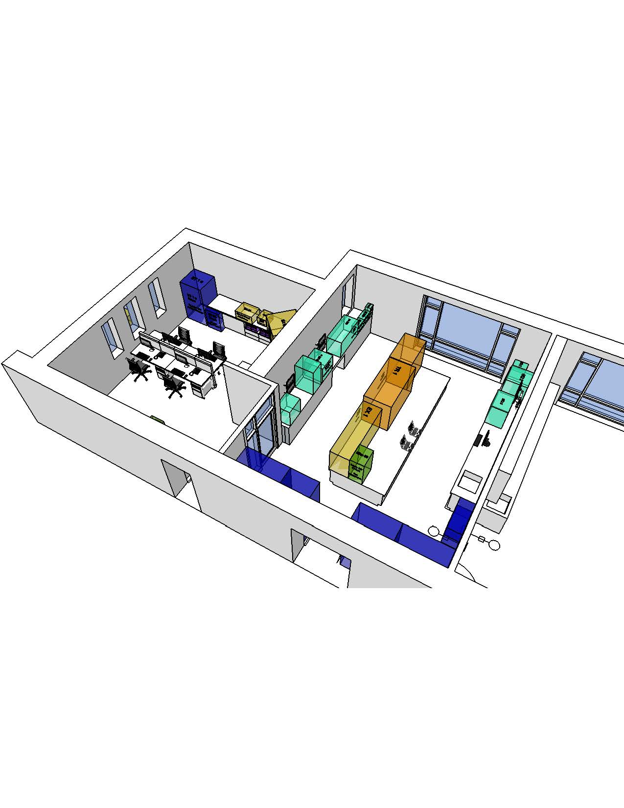 Wet Lab_Equipment Model