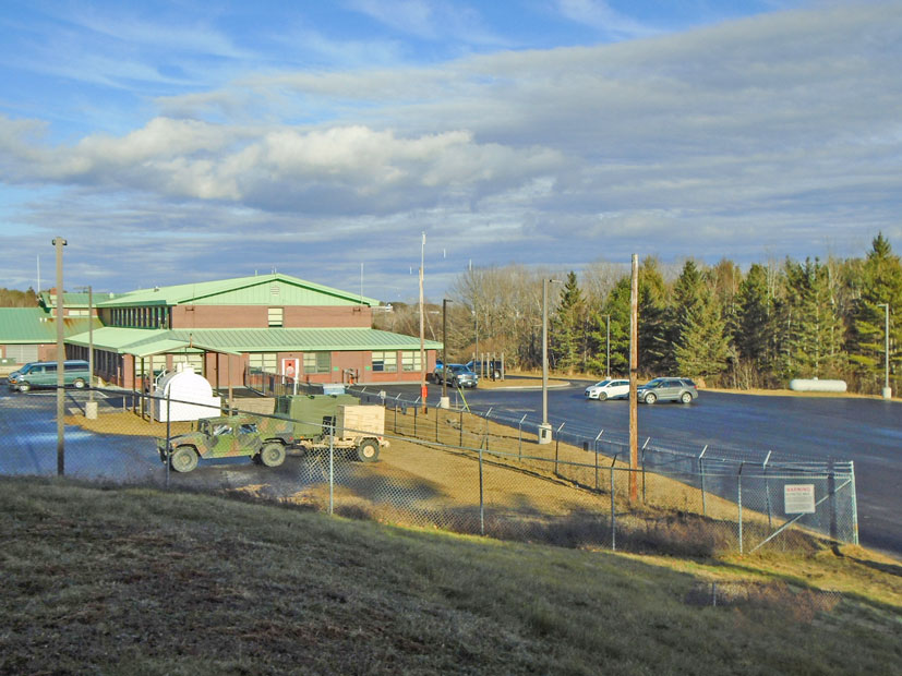 Bangor Armed Forces Reserve Center exterior photo