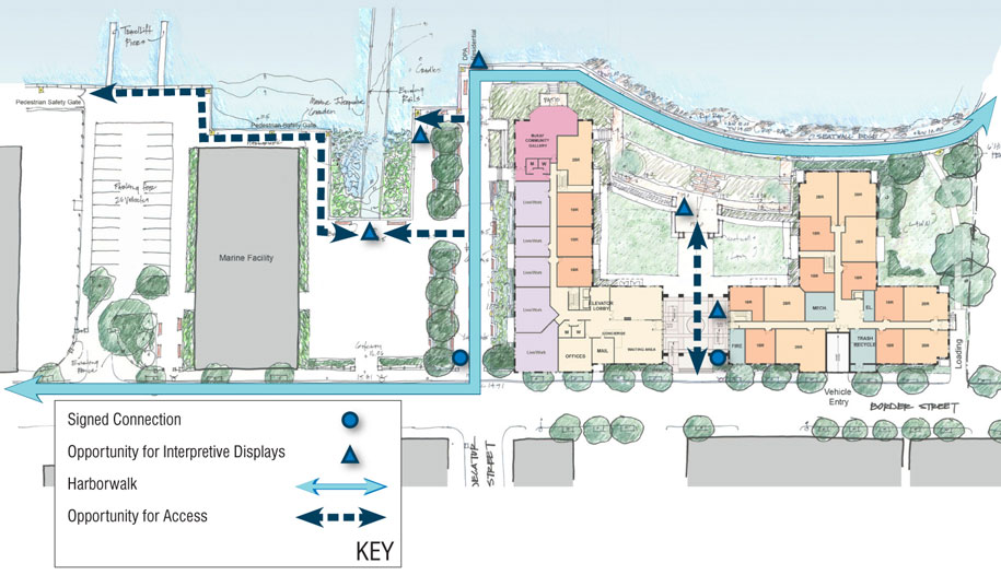 Boston Redevelopment Authority signage plan