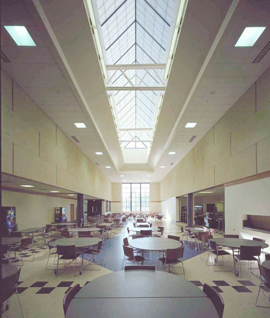 Brunswick High School interior photo