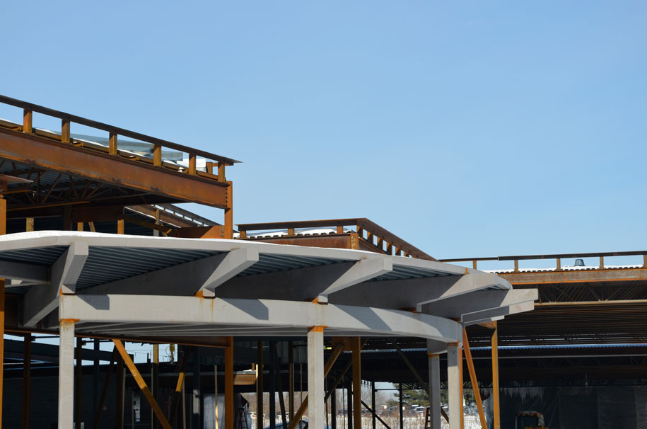 Connors Elementary School construction photo