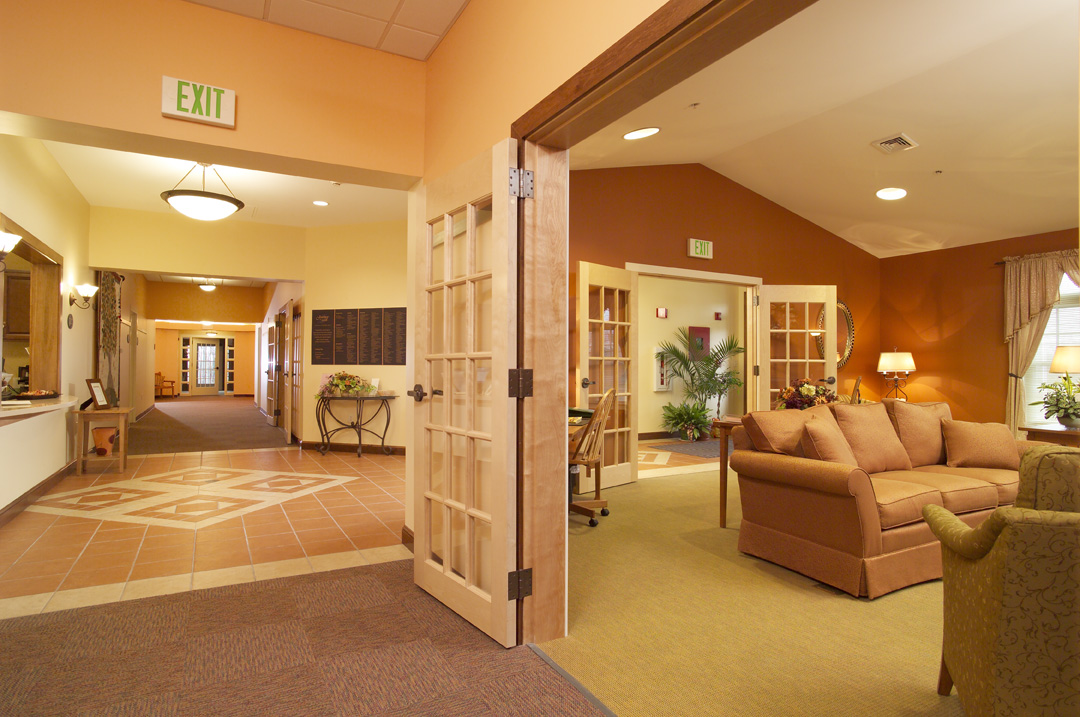 Hospice House photographed for Harriman Associates.No Stock usage Permitted!