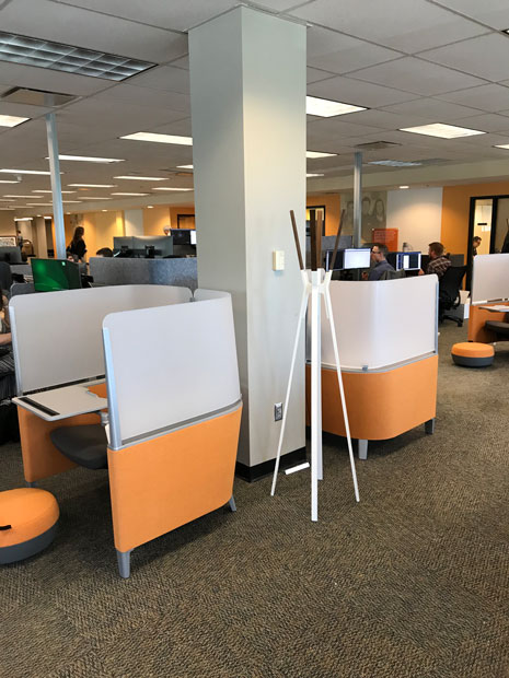 TD Bank West falmouth Crossing interior photo