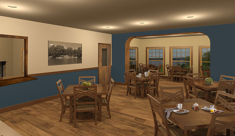 Travis Mills Foundation dining room photo